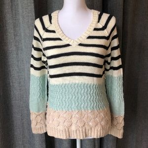Sanctuary Clothing Remix Rugby Sweater  Wintermint